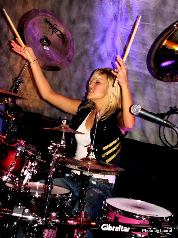 Hannah Ford Welton with Beat Boogie snare drum