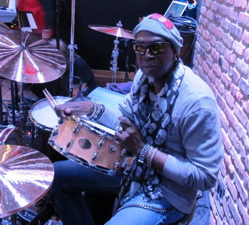 Alvino Bennett - drummer with the Dave Mason Band